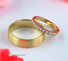 LK-267 Arany karikagyűrű, jegygyűrű