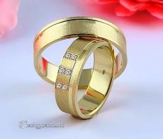 LK-270 Arany karikagyűrű, jegygyűrű