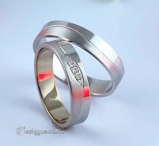 LK-272 Arany karikagyűrű, jegygyűrű