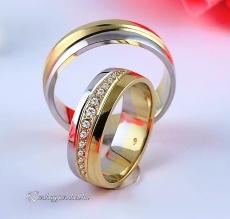 LK-273 Arany karikagyűrű, jegygyűrű