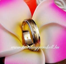 B-040 Arany karikagyűrű, jegygyűrű