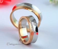 LK-274 Arany karikagyűrű, jegygyűrű