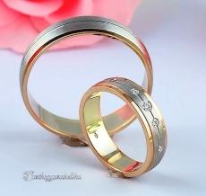 LK-275 Arany karikagyűrű, jegygyűrű
