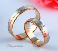 LK-277 Arany karikagyűrű, jegygyűrű