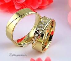 LK-280 Arany karikagyűrű, jegygyűrű