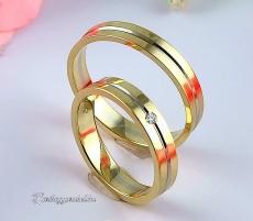 LK-285 Arany karikagyűrű, jegygyűrű