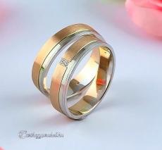 LK-286 Arany karikagyűrű, jegygyűrű