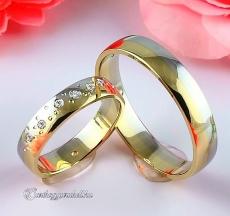 LK-292 Arany karikagyűrű, jegygyűrű