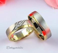 LK-294 Arany karikagyűrű, jegygyűrű