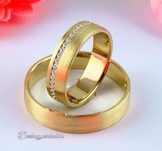LK-295 Arany karikagyűrű, jegygyűrű