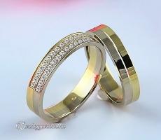 LK-296 Arany karikagyűrű, jegygyűrű
