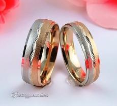 LK-297 Arany karikagyűrű, jegygyűrű