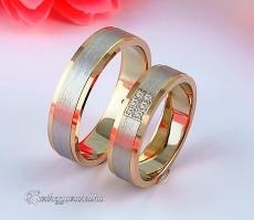 LK-298 Arany karikagyűrű, jegygyűrű