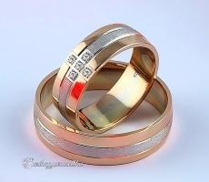 LK-299 Arany karikagyűrű, jegygyűrű