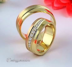 LK-301 Arany karikagyűrű, jegygyűrű