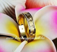 B-053 Arany karikagyűrű, jegygyűrű