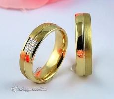 LK-302 Arany karikagyűrű, jegygyűrű