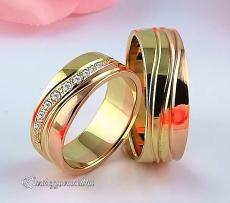 LK-304 Arany karikagyűrű, jegygyűrű
