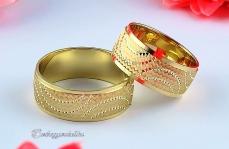 LK-308 Arany karikagyűrű, jegygyűrű