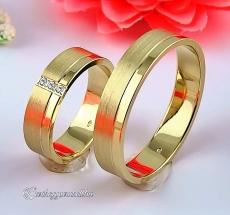 LK-310 Arany karikagyűrű, jegygyűrű