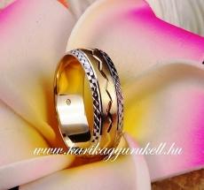 B-054 Arany karikagyűrű, jegygyűrű