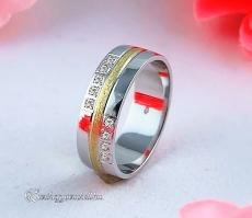 LK-314 Arany karikagyűrű, jegygyűrű