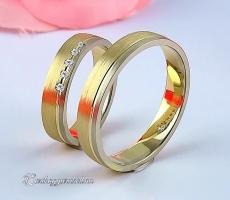 LK-317 Arany karikagyűrű, jegygyűrű