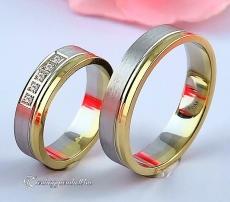 LK-318 Arany karikagyűrű, jegygyűrű
