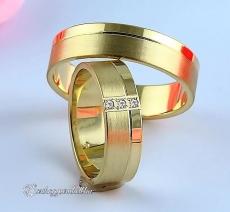 LK-320 Arany karikagyűrű, jegygyűrű
