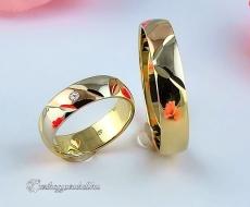 B-055 Arany karikagyűrű, jegygyűrű