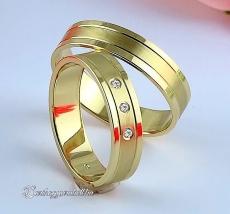 LK-328 Arany karikagyűrű, jegygyűrű