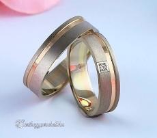 LK-329 Arany karikagyűrű, jegygyűrű