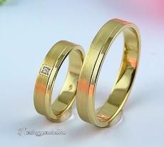 LK-330 Arany karikagyűrű, jegygyűrű