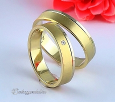 LK-331 Arany karikagyűrű, jegygyűrű