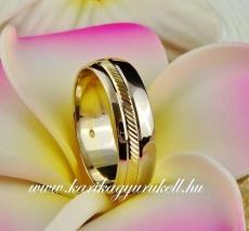 B-064 Arany karikagyűrű, jegygyűrű