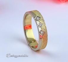 LK-332 Arany karikagyűrű, jegygyűrű