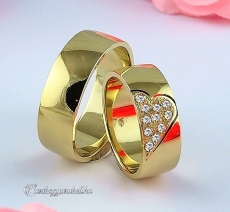 LK-335 Arany karikagyűrű, jegygyűrű