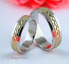 LK-338 Arany karikagyűrű, jegygyűrű