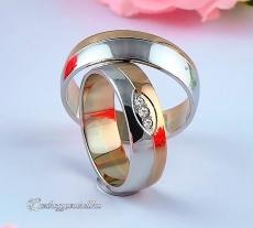 LK-343 Arany karikagyűrű, jegygyűrű