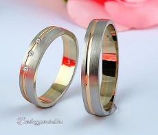 LK-346 Arany karikagyűrű, jegygyűrű