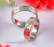 LK-348 Arany karikagyűrű, jegygyűrű