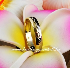 B-067 Arany karikagyűrű, jegygyűrű