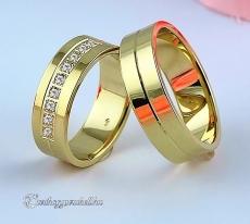 LK-352 Arany karikagyűrű, jegygyűrű