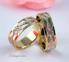 LK-355 Arany karikagyűrű, jegygyűrű