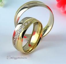 LK-356 Arany karikagyűrű, jegygyűrű