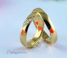 LK-359 Arany karikagyűrű, jegygyűrű