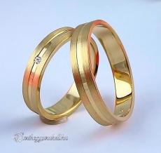 LK-369 Arany karikagyűrű, jegygyűrű