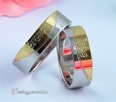 LK-373 Arany karikagyűrű, jegygyűrű