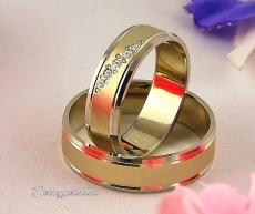 LK-376 Arany karikagyűrű, jegygyűrű