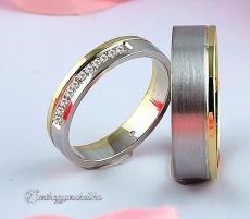 LK-377 Arany karikagyűrű, jegygyűrű